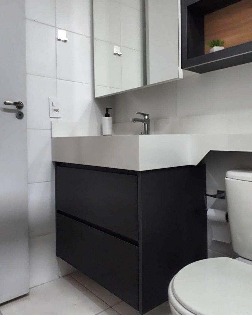 armario para banheiro pequeno