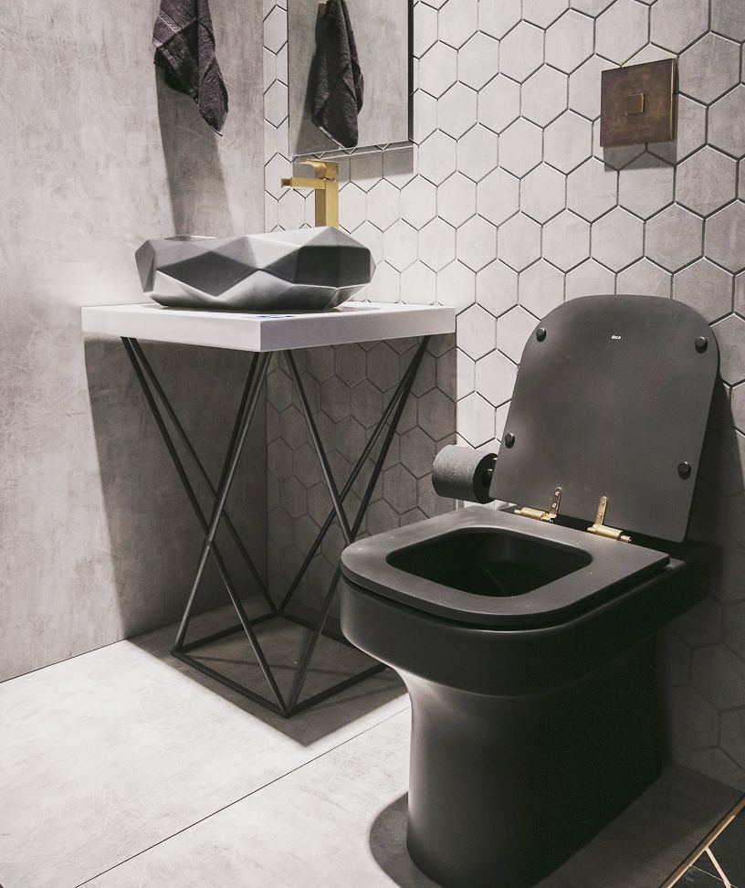 cuba de apoio banheiro