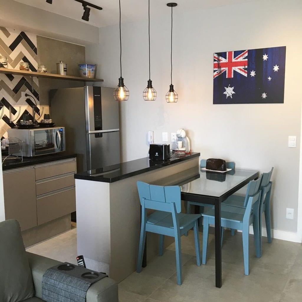 cozinha-americana-pequena-apartamento-simples-moderna