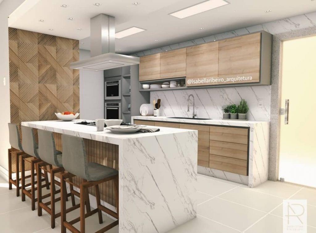 cozinha-americana-marmore-madeira
