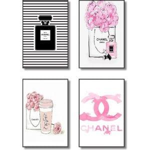 Quadros-Decorativos-Chanel