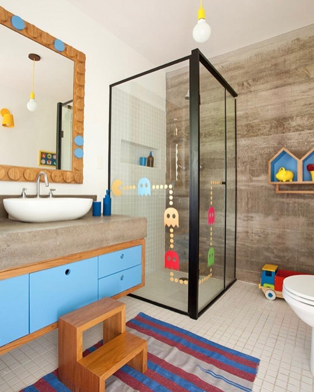 Banheiro infantil: 45 inspirações de decoração para você! - Dicas ...