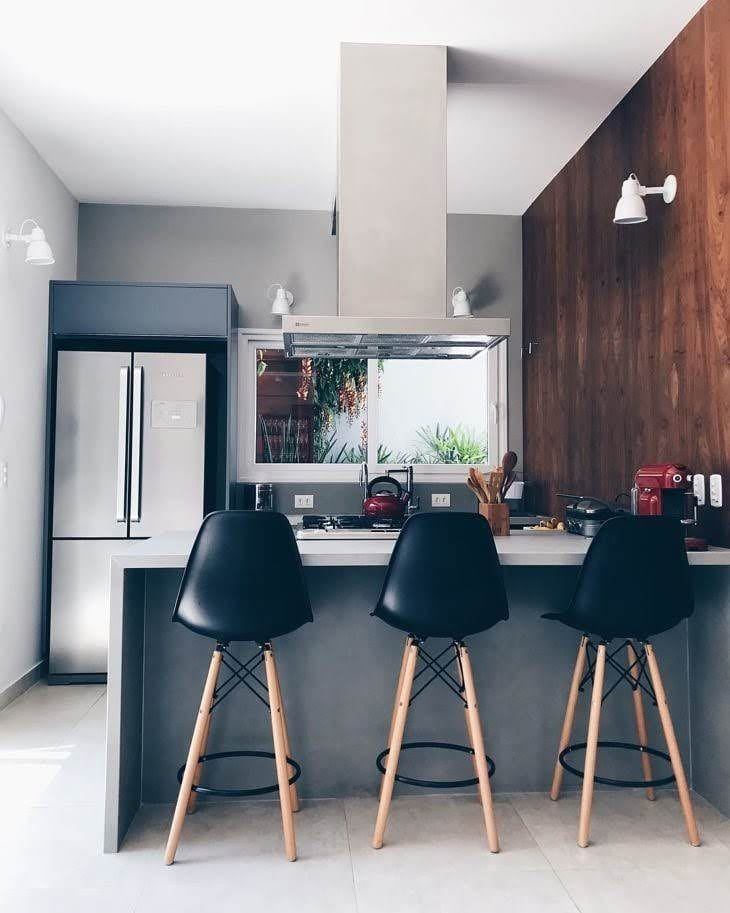 cozinha-americana-pequena-simples-apartamento