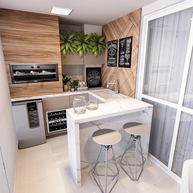 cozinha-americana-varanda-apartamento-pequeno
