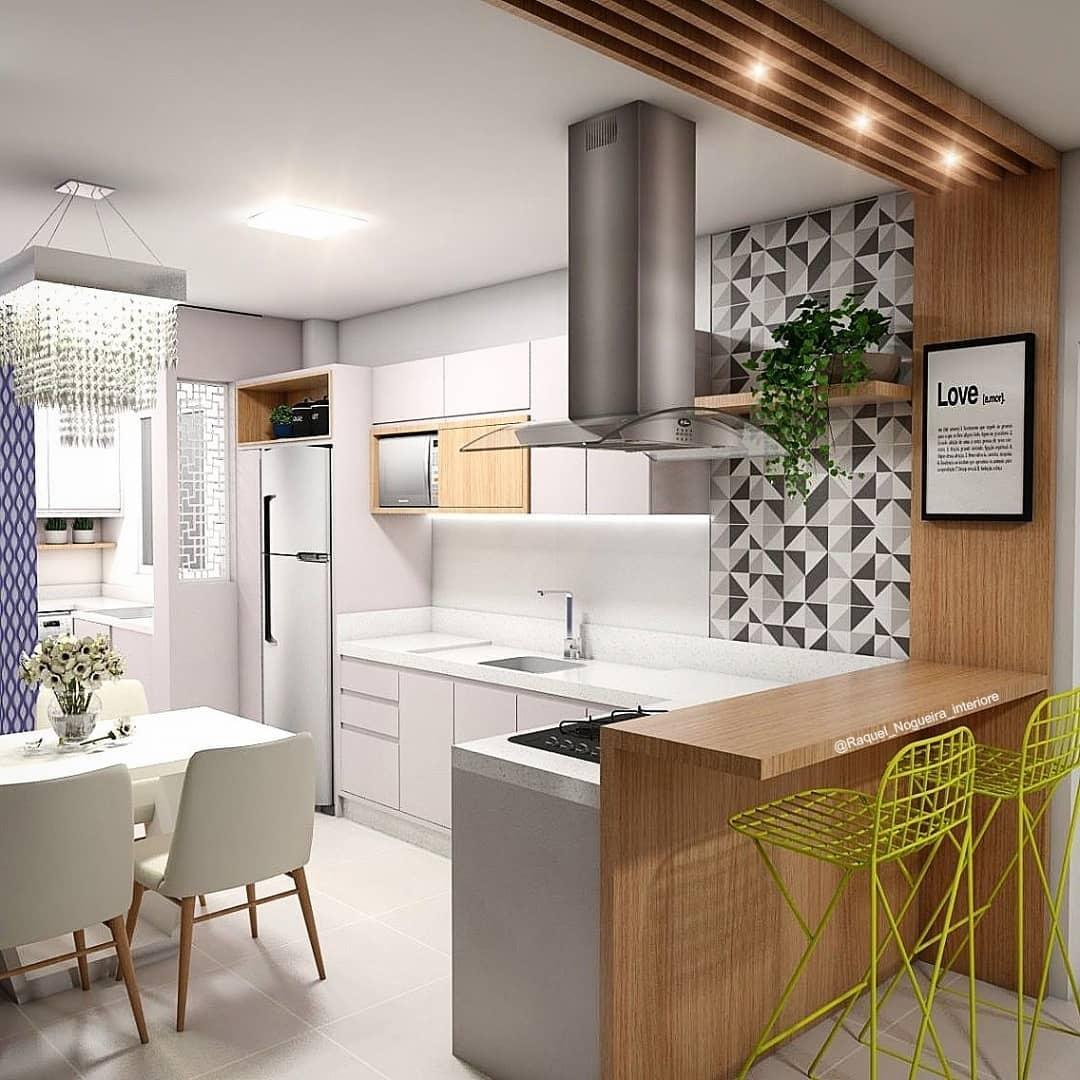 cozinha-americana-apartamento-branca-clean