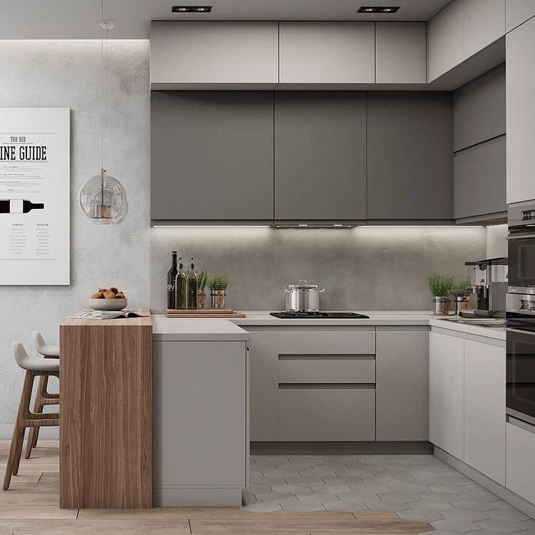 cozinha-americana-pequena-apartamento-moderna-clean