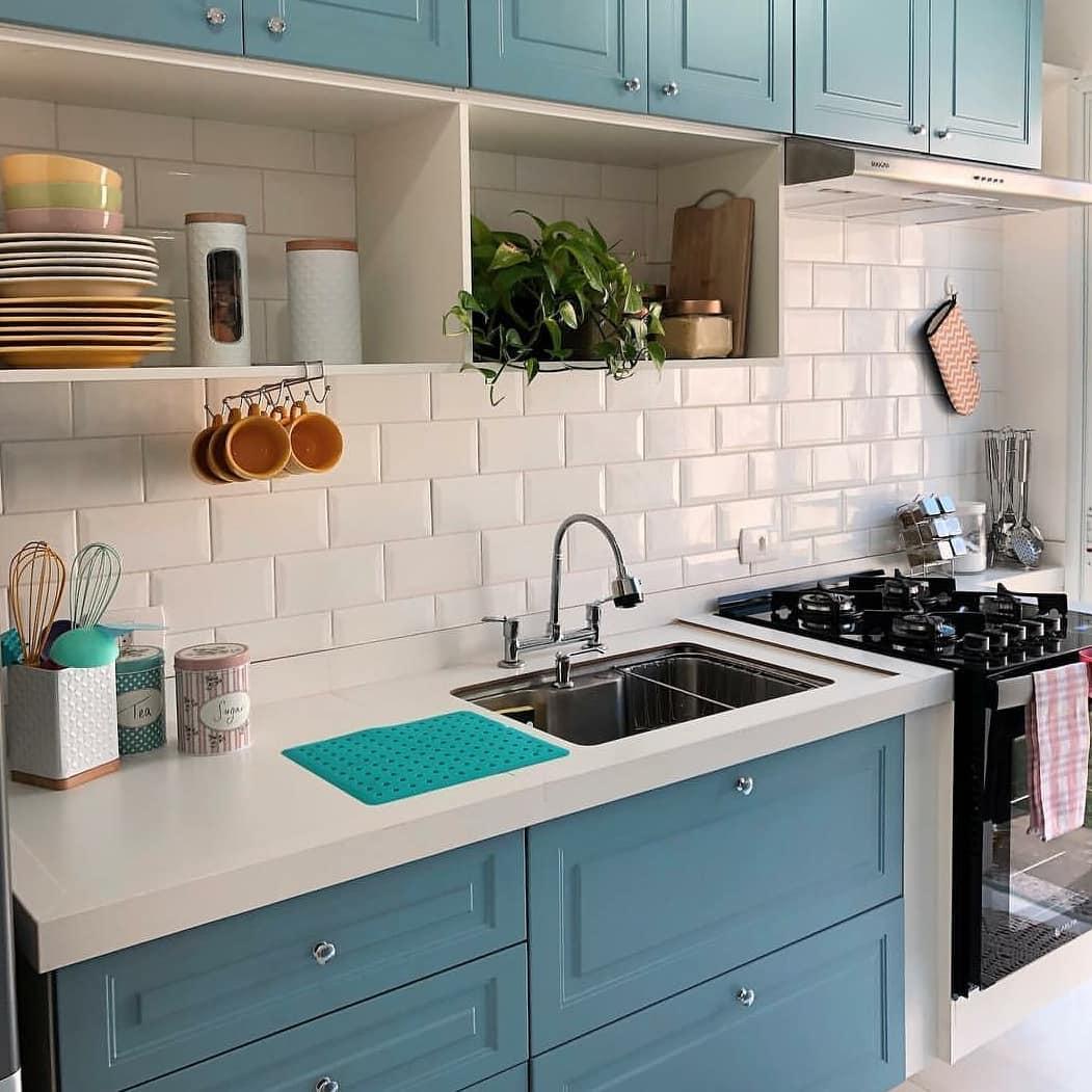Cozinha Azul 60 Lindas Inspiracoes Para Voce Dicas Decor
