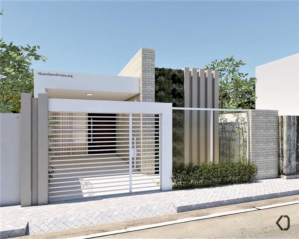 Fachadas de casas pequenas 50 ideias dicas e projetos incr veis dicas decor - Reformas en casas pequenas ...
