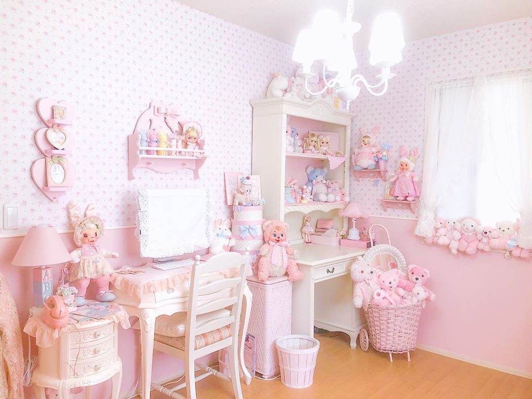 quarto infantil rosa claro