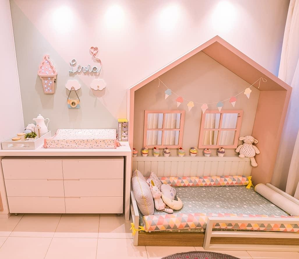 quarto rosa montessoriano
