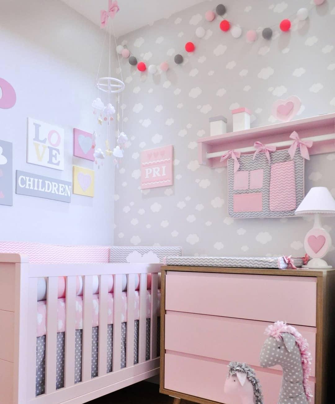 Mil Ideias De Decoração Quartos De Bebé: Decoração Quarto Bebê: 50 Lindas Ideias Para Te Inspirar