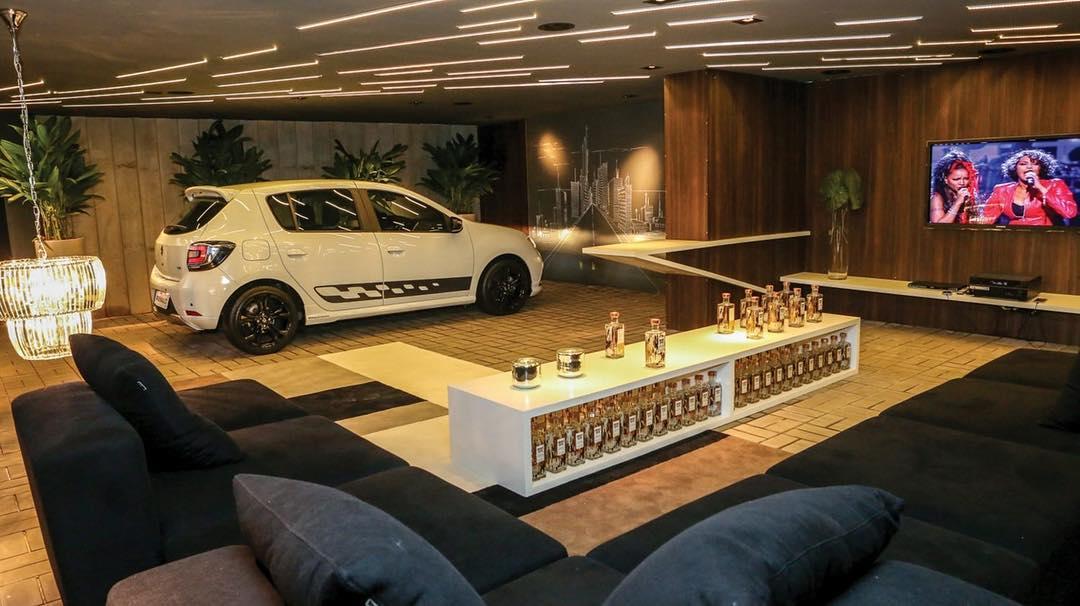 modelos de garagem luxo