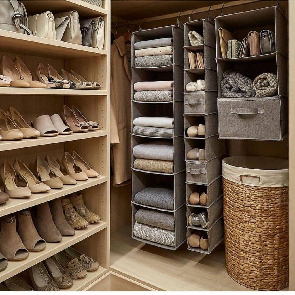 Shoe Organizers For Closets: Closet Pequeno: Dicas Para Organizar E +60 Projetos