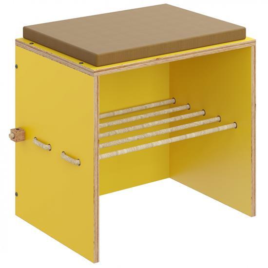 banco-com-futon-amarelo