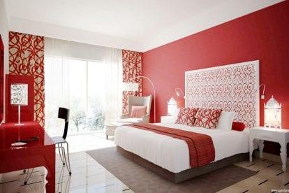 quarto-vermelho-branco-decoracao