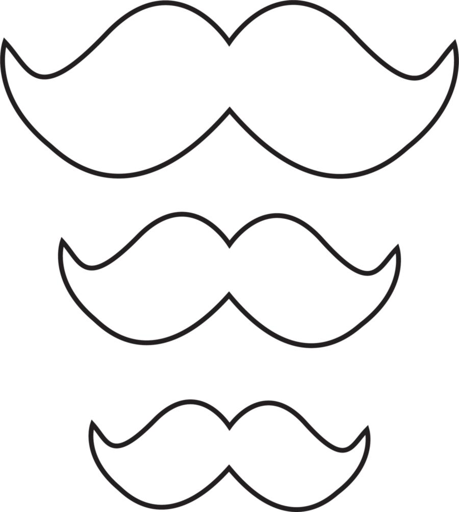 bigode-molde