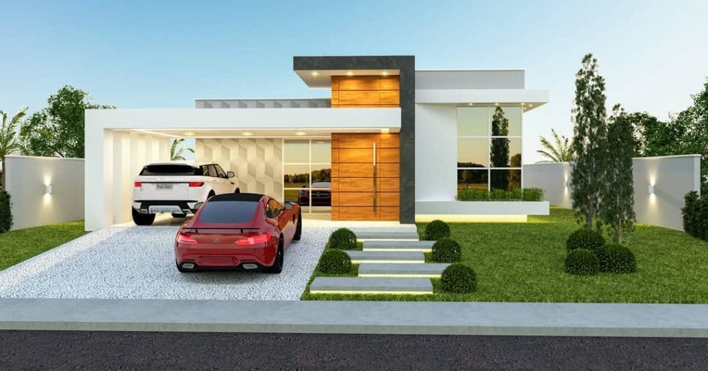 fachada-de-casa-terrea-moderna