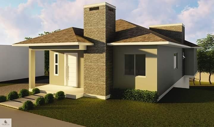 fachada-de-casa-terrea-simples