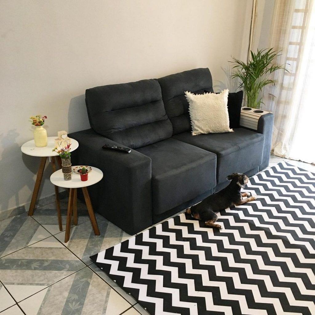 sofa pequeno apartamento