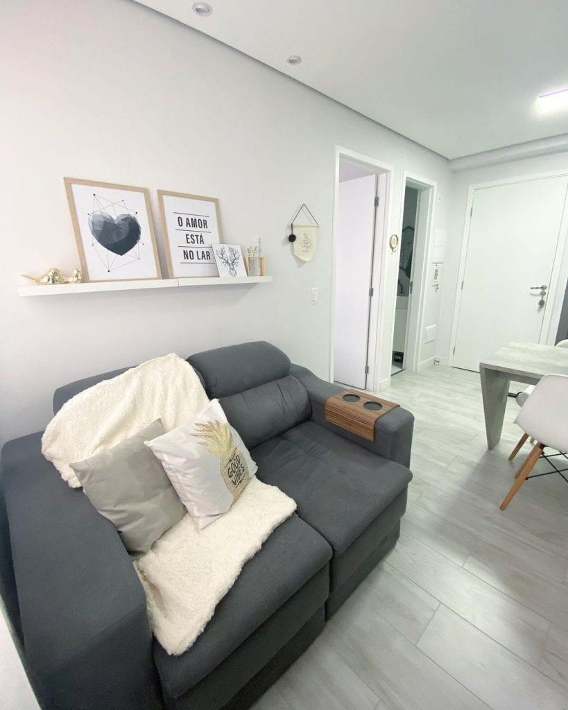 sofa pequeno para apartamento