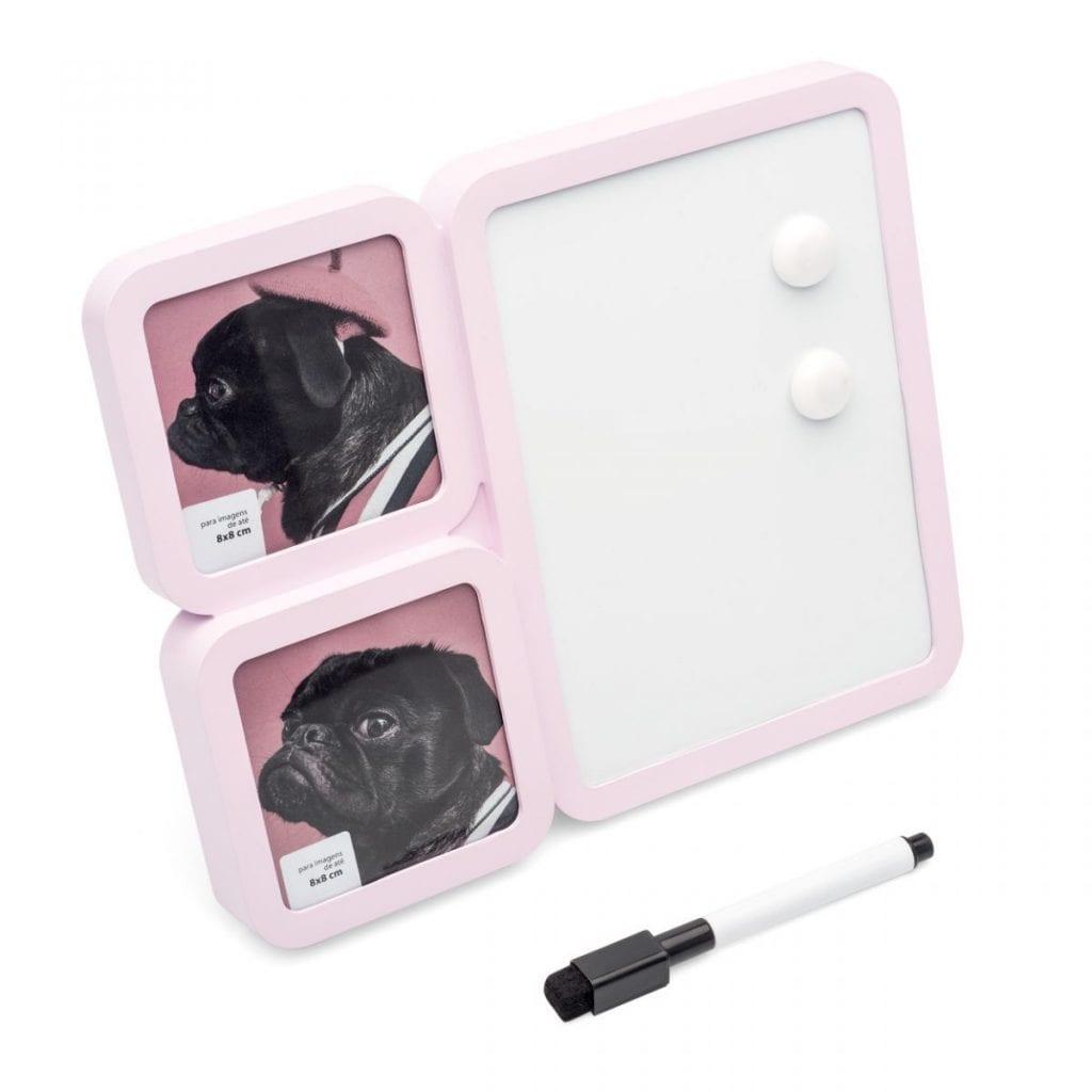 Porta-retrato-rosa-escritorio