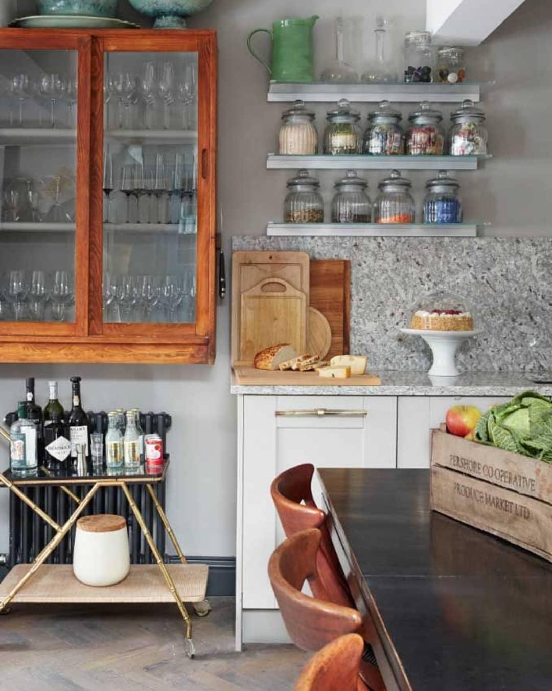 granito branco bancada cozinha