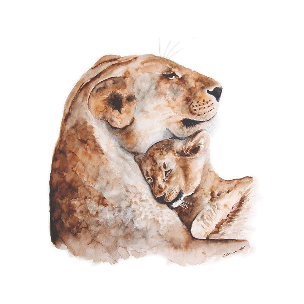 imagem-aquarela-safari-leao