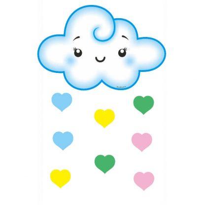 Painel-Nuvem-Azul-Chuva-de-Amor