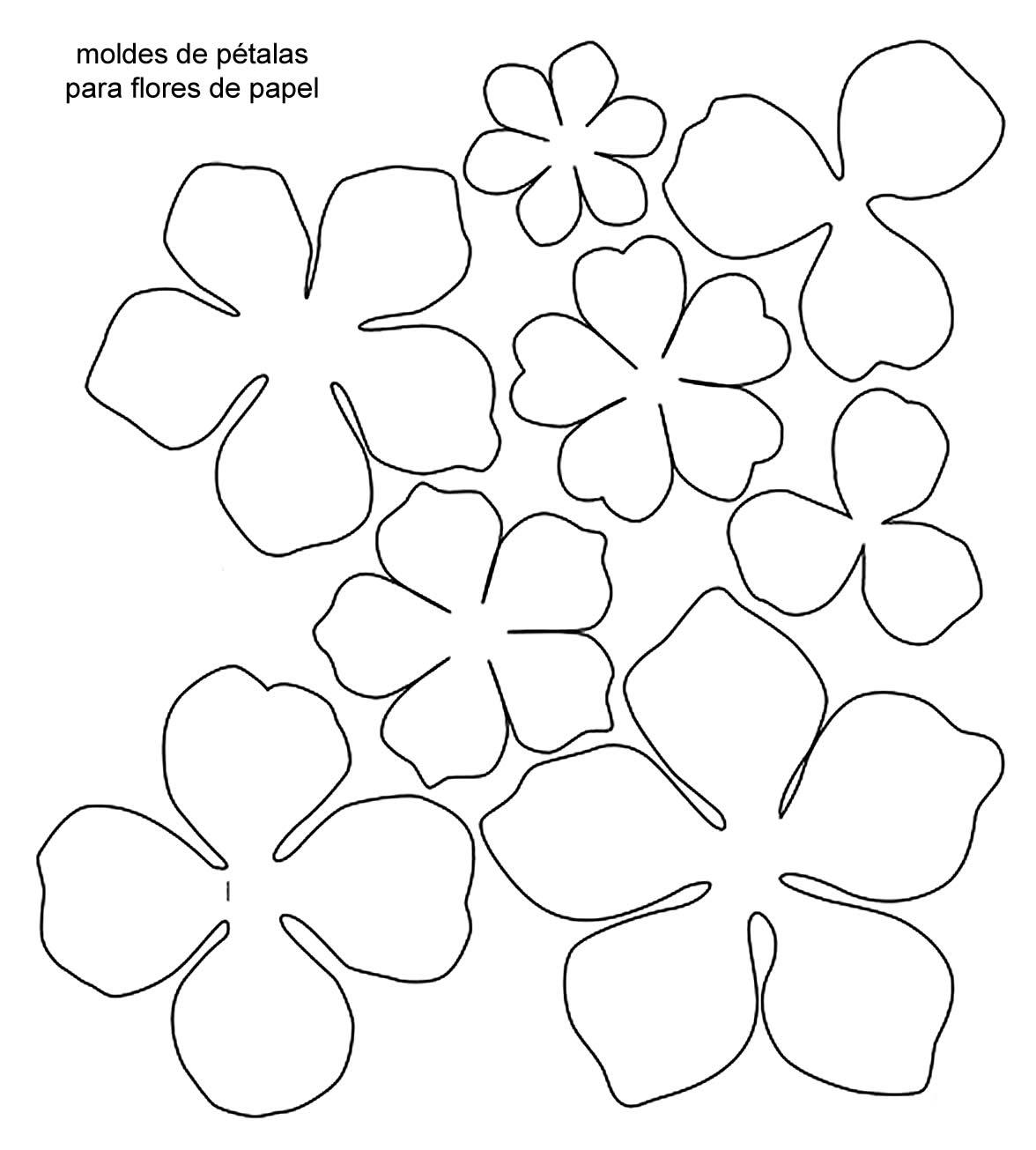 flores-de-papel-molde