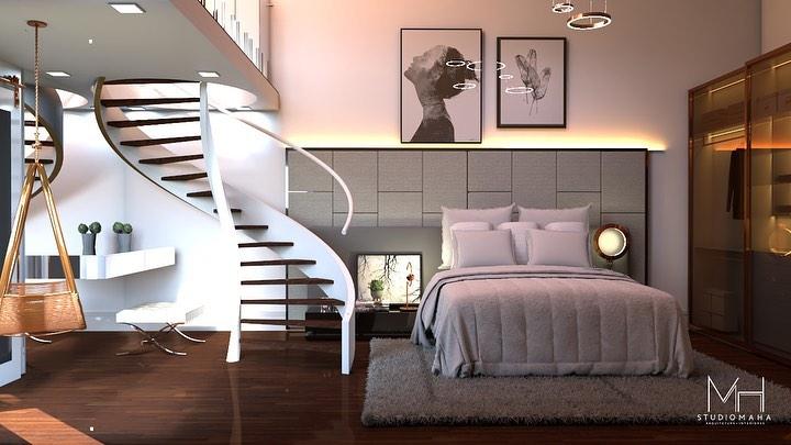 escada caracol para mezanino