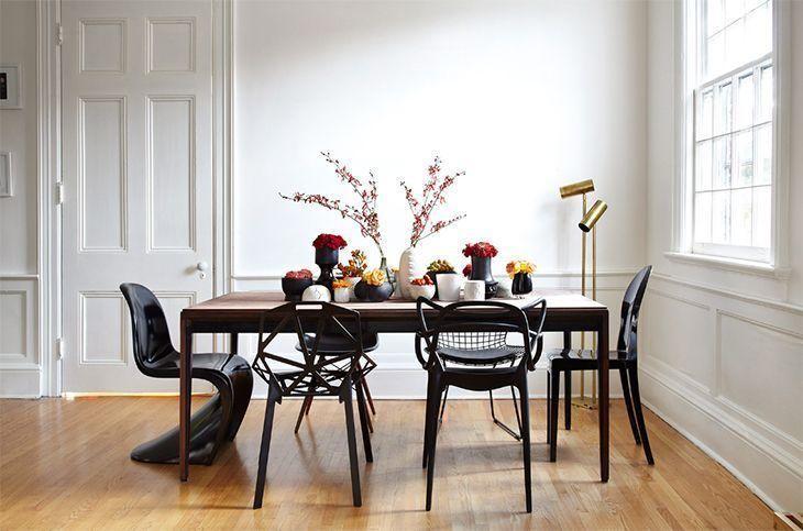 como-misturar-cadeiras-diferentes-mesa