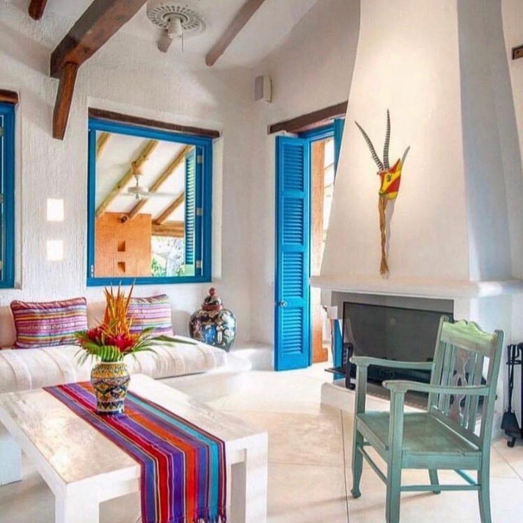 decoração casa de praia simples