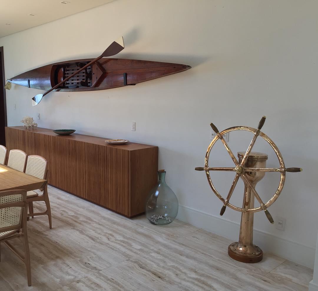 decoração casa de praia objetos