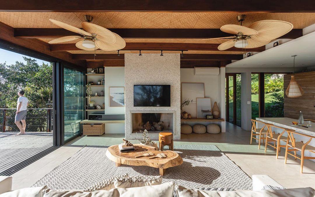 decoração casa de praia minimalista sofisticada