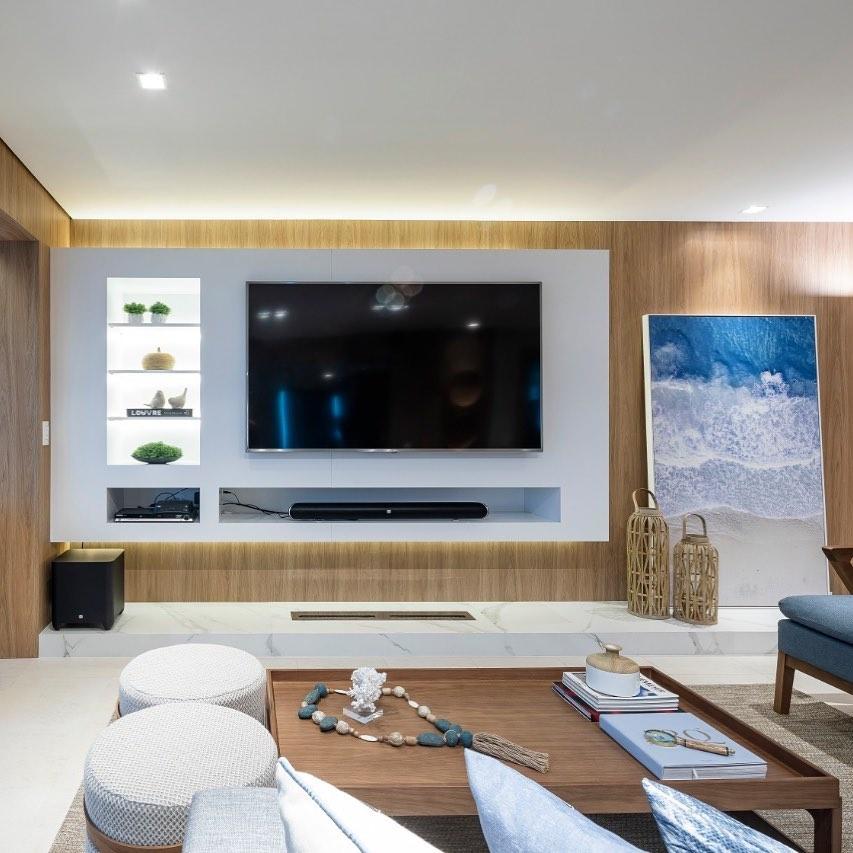 decoração apartamento de praia sofisticado