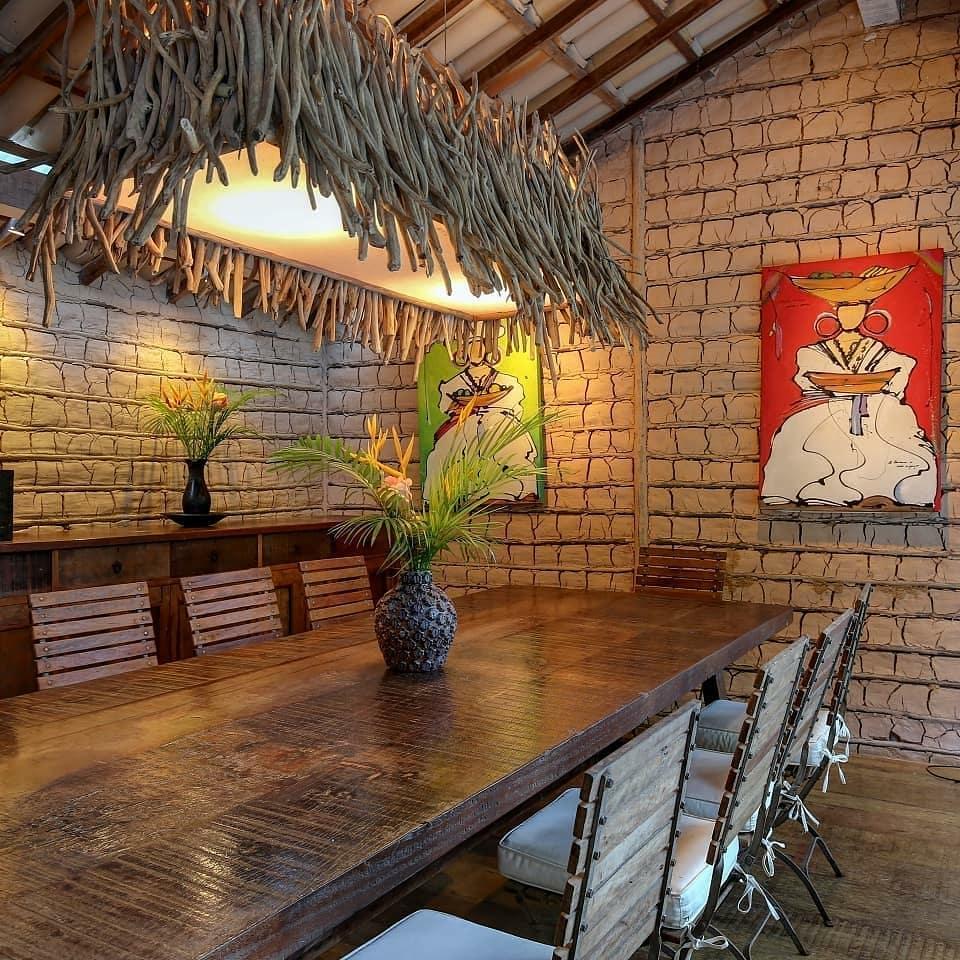 decoração casa de praia rustica