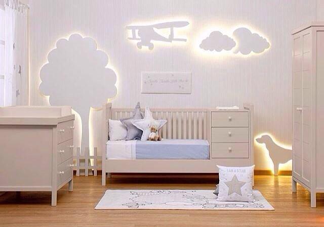 quarto clean de bebe