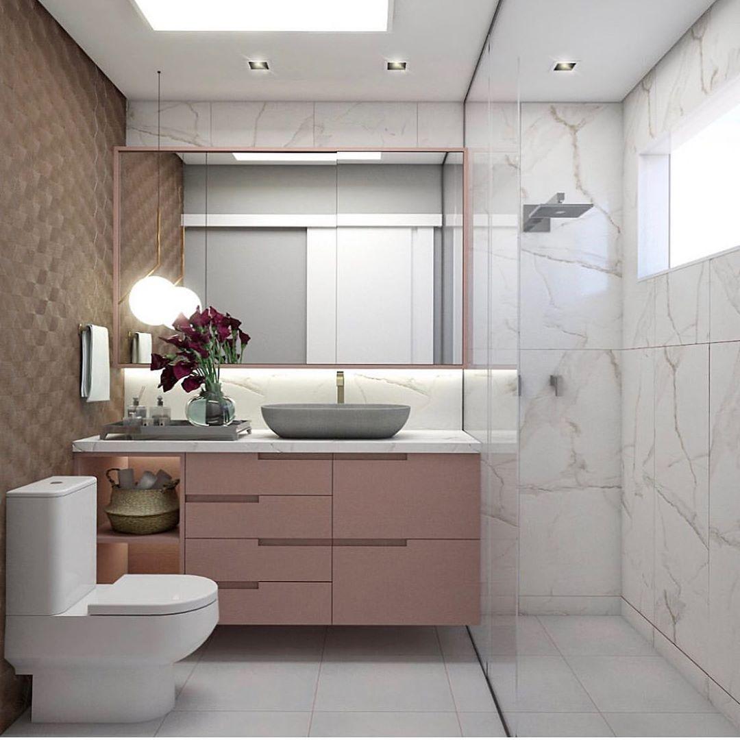 banheiro rosa antigo