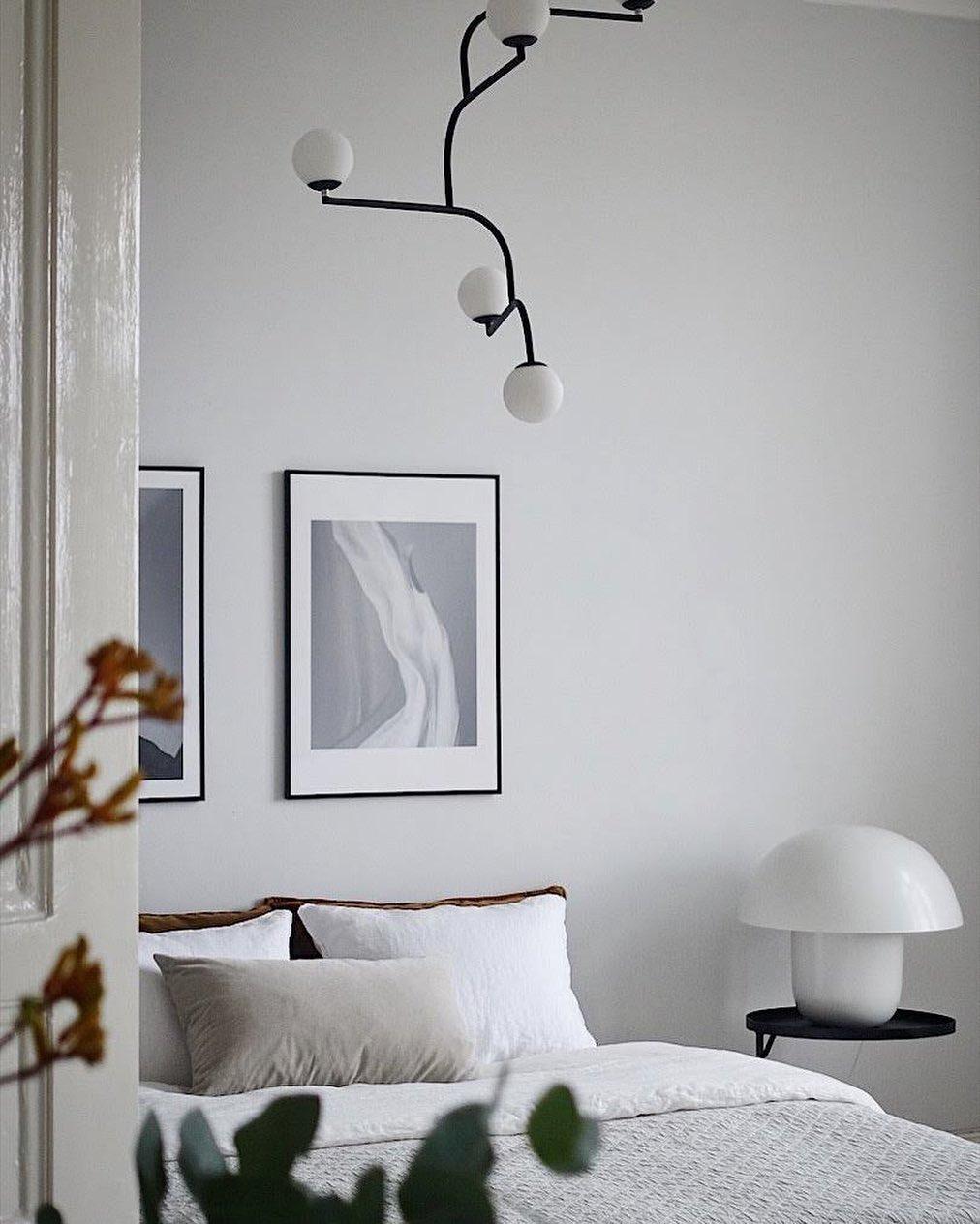 iluminação em quarto clean