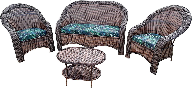 conjunto estofado sofa para area externa
