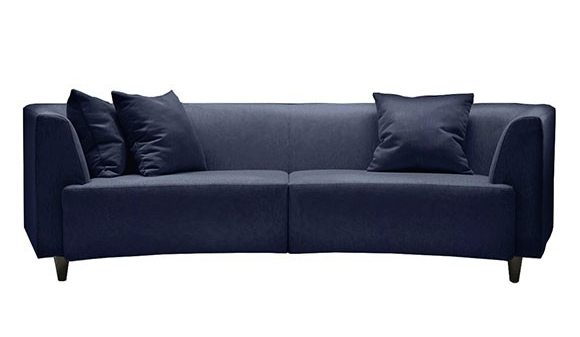 sofa de 2 lugares azul