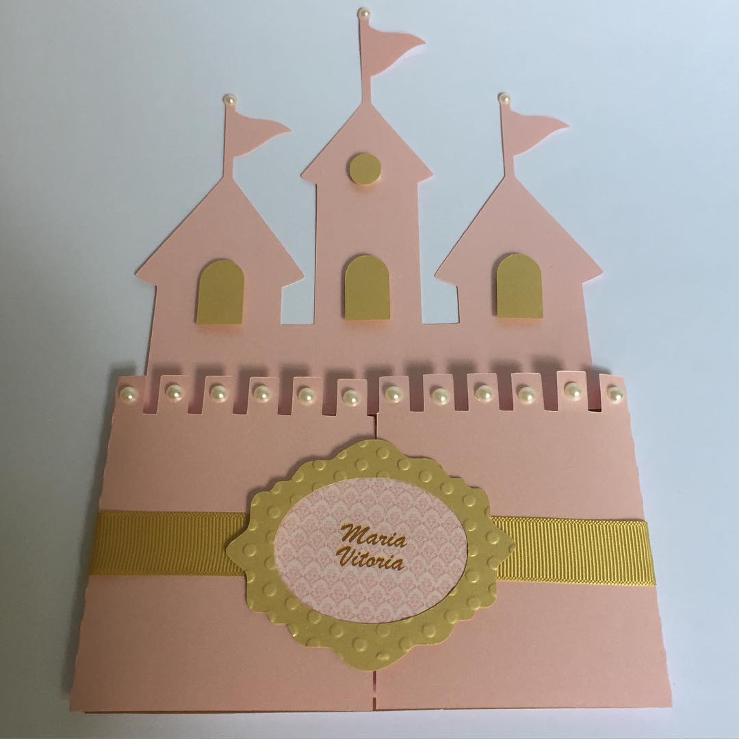 convite festa princesa