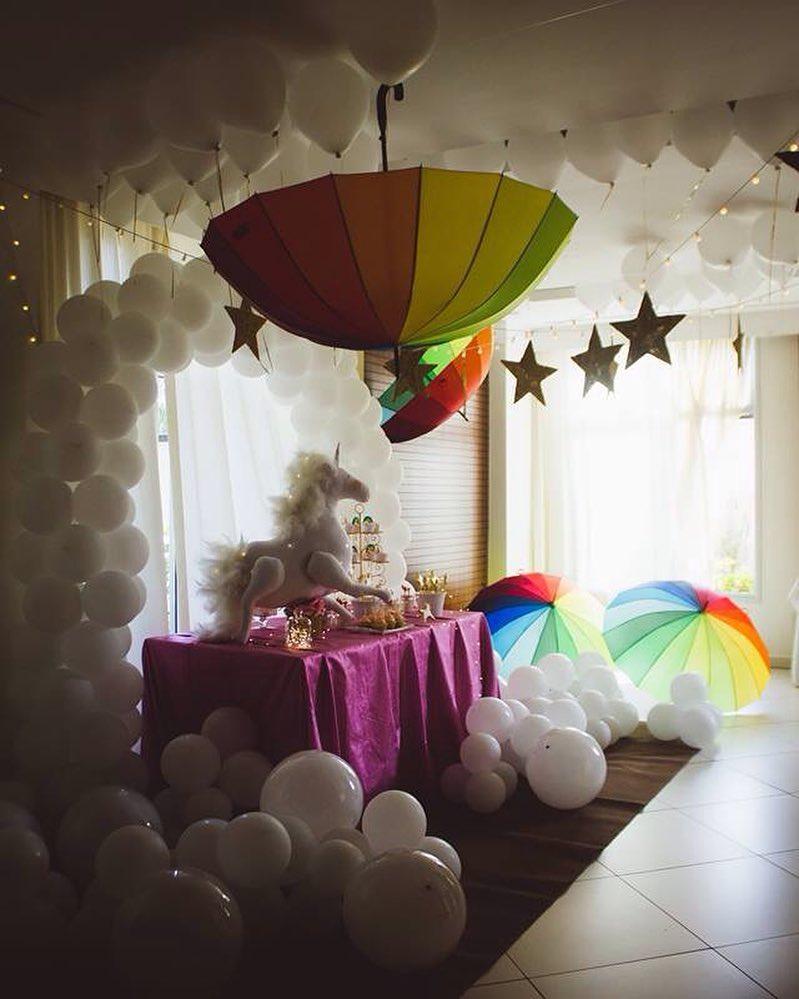 decoração festa unicornio diferente