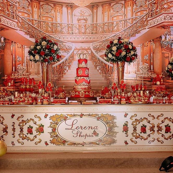 decoração festa tema princesa