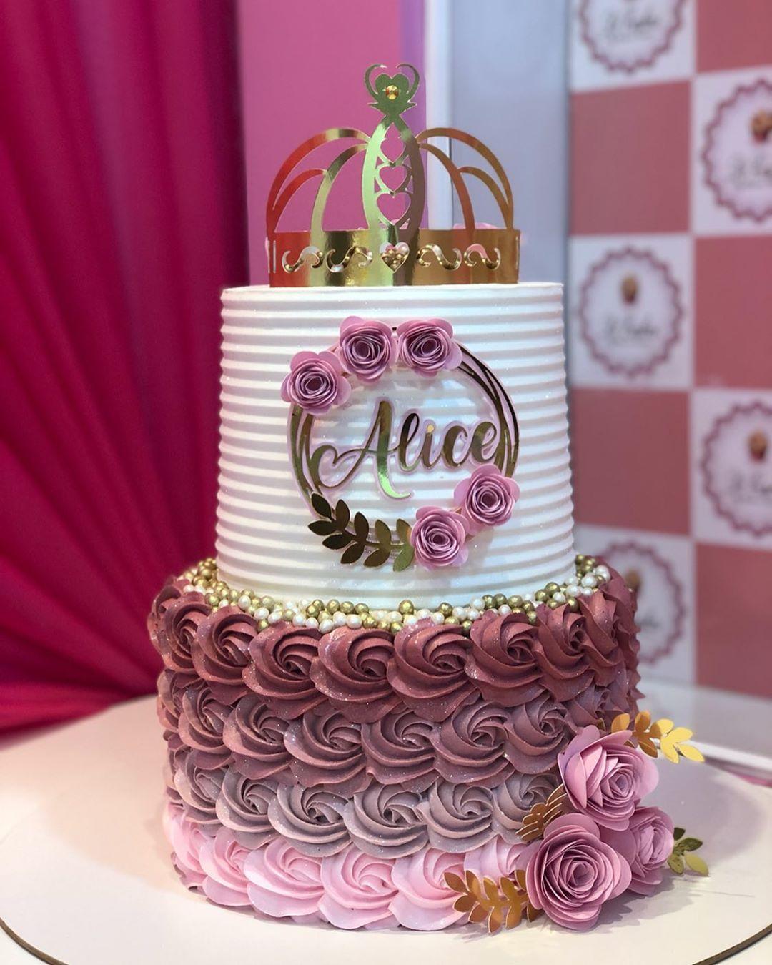bolo para festa princesa