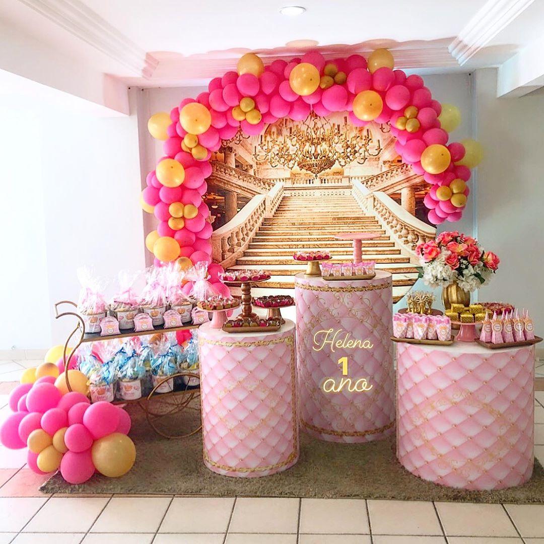 decoração festa princesa