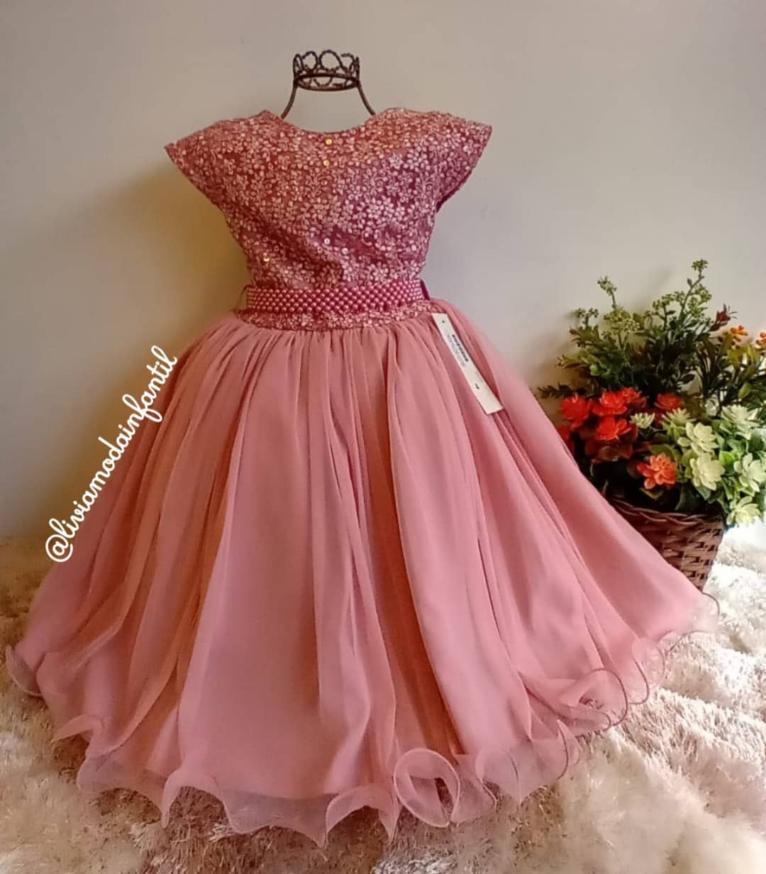 vestido aniversariante festa princesa