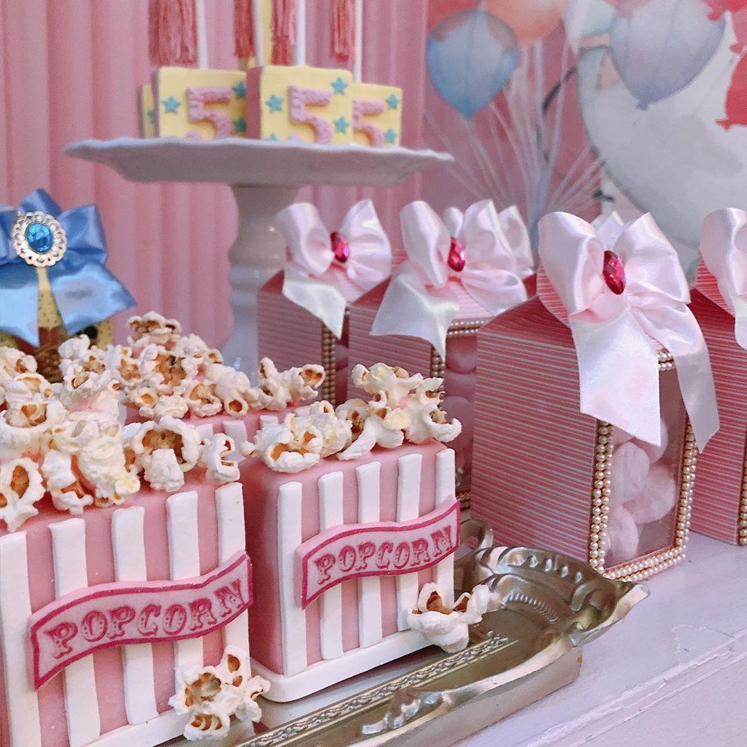 docinhos festa circo rosa
