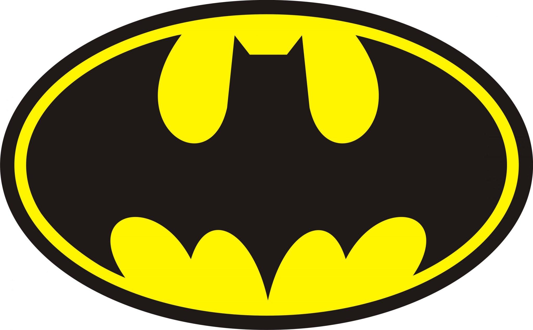 simbolo batman para festa