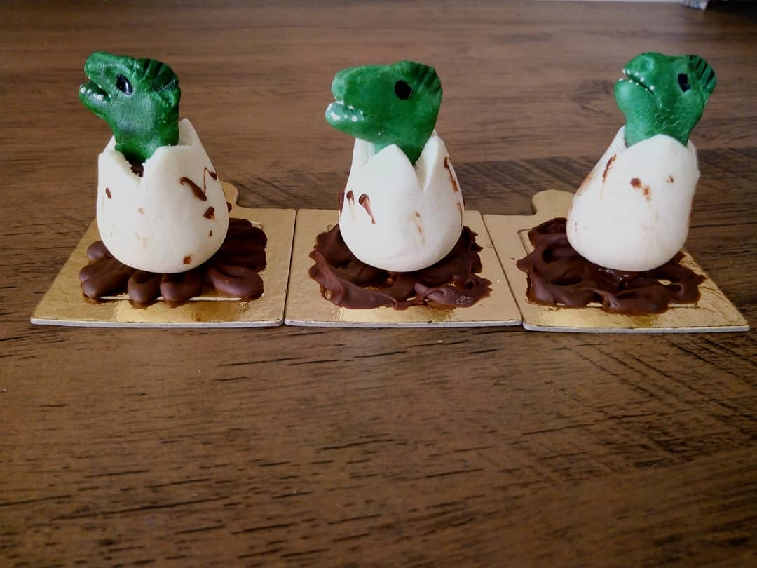 docinhos festa dinossauro